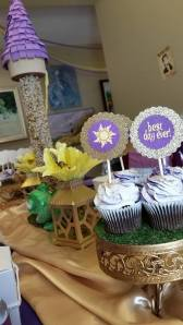 Rapunzel Themed Party Decor by Girly-Girl Parteas