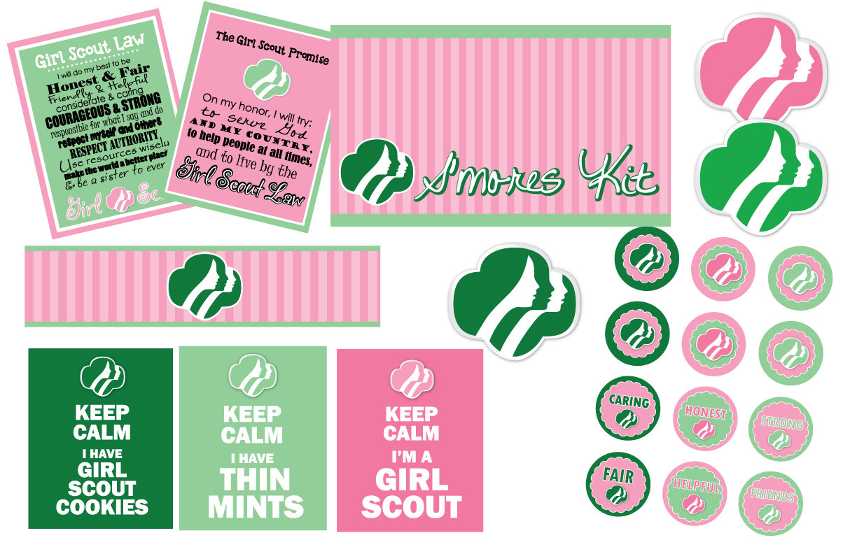 Girl scout theme party supplies 7